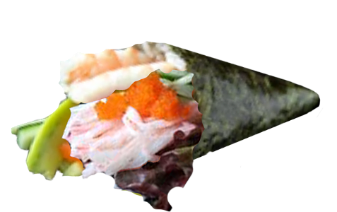 Foto California Crab handroll