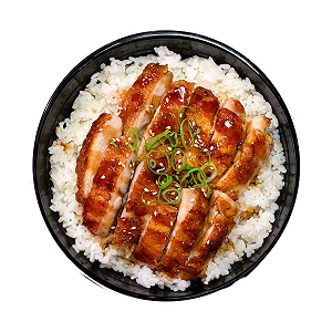 Foto Chicken Teriyaki rice bowl